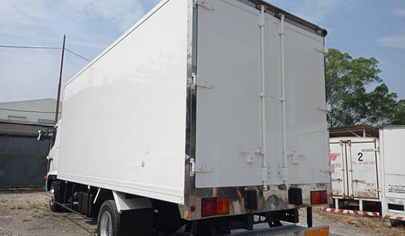 NEW Rebuilt Hino FD7 Freezer Box 18′ full